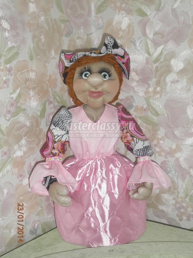 Куклы из капрона своими руками пошаговая инструкция домовята 49