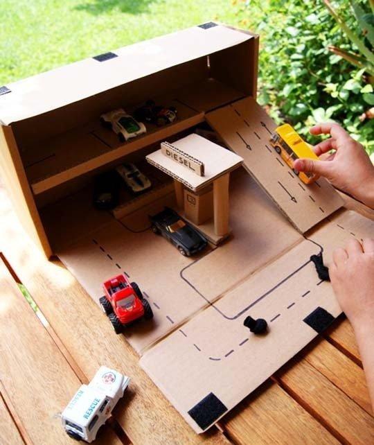 Как самому сделать машинку для ребенка