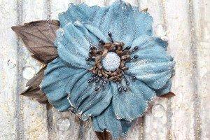 Брошь цветок своими руками: из шифона, из ткани и из фоамирана