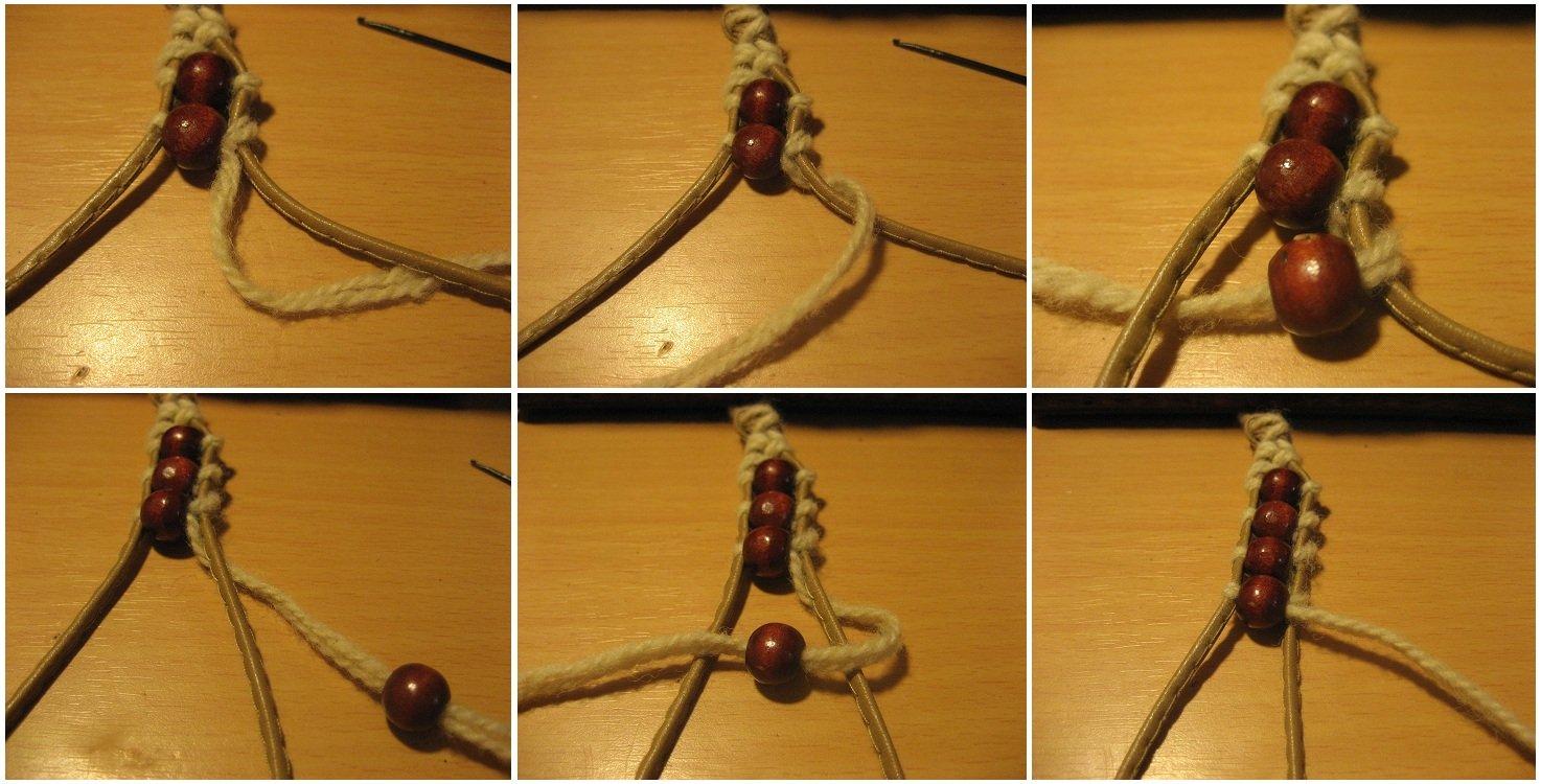 Как сделать браслеты на веревочках 695