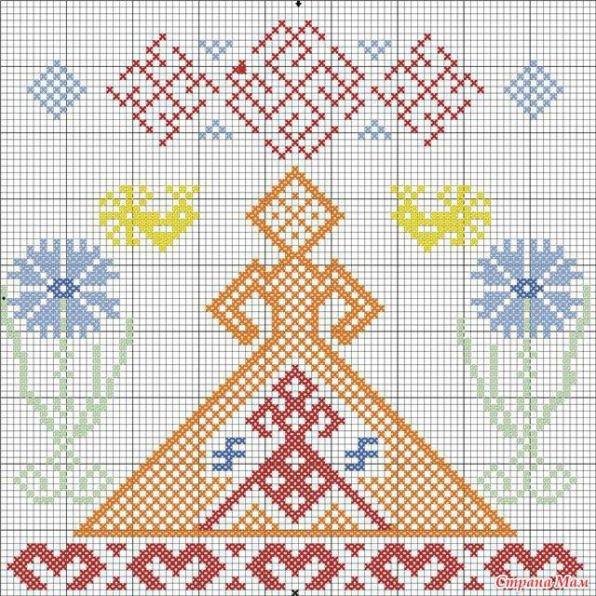 Схемы вышивки по религии