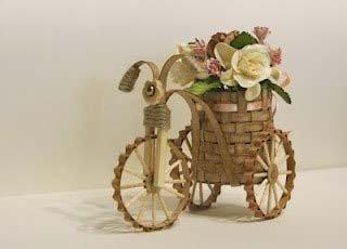Велосипед своими руками: делаем поделку для декора по фото