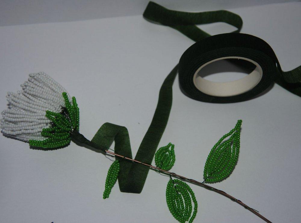 Астра из бисера: схема плетения и мастер класс с фото