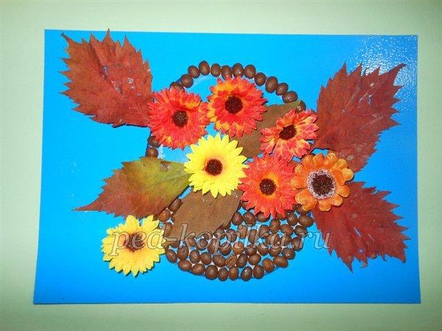 Красивые поделки на тему Осень в детский сад и школу. work