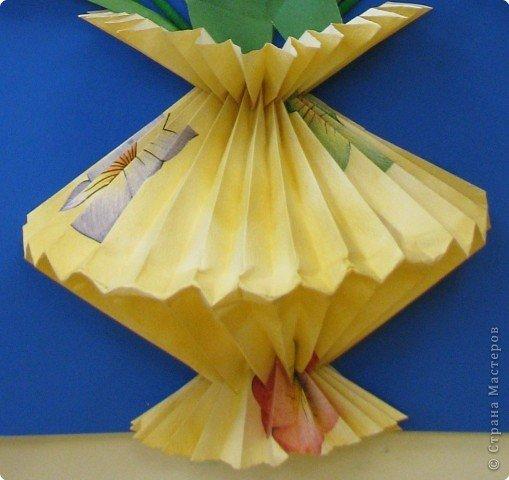 Ваза для цветов своими руками: шаблон и схемы к 8 марта