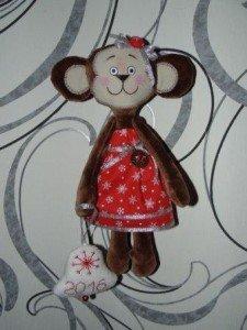 Мягкая игрушка обезьянка своими руками: выкройки и мастер класс