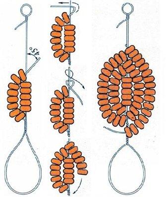 Инструкция по глицинии из бисера: мастер класс