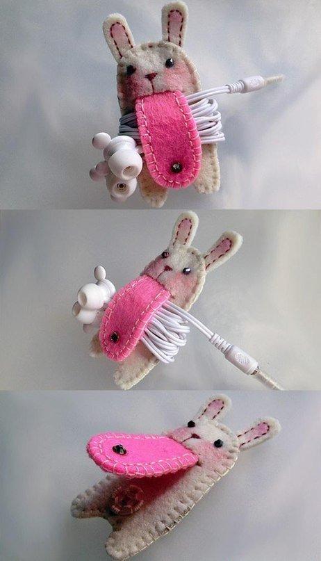Идеи чехлов для наушников своими руками