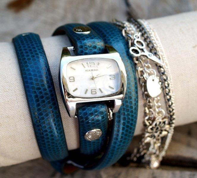 Как сделать часы своими руками наручные