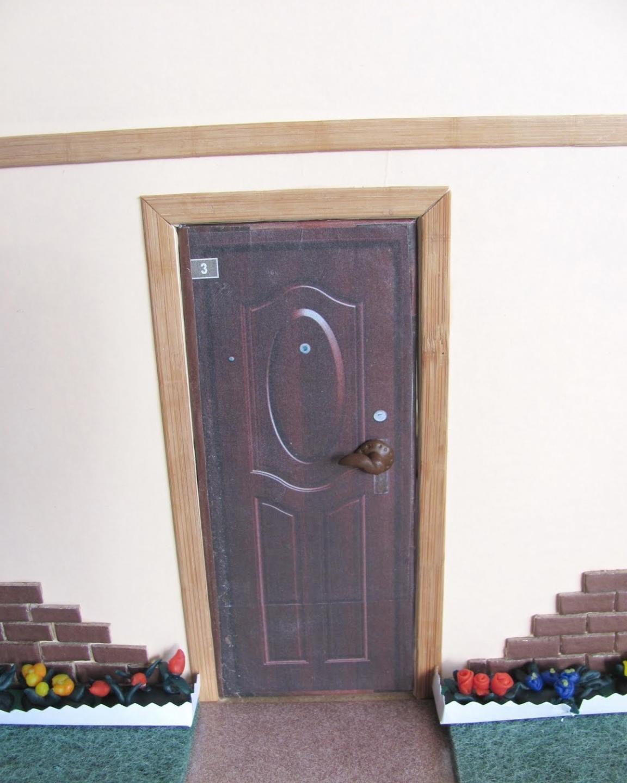 как сложить кукольный домик на 6 комнат инструкция