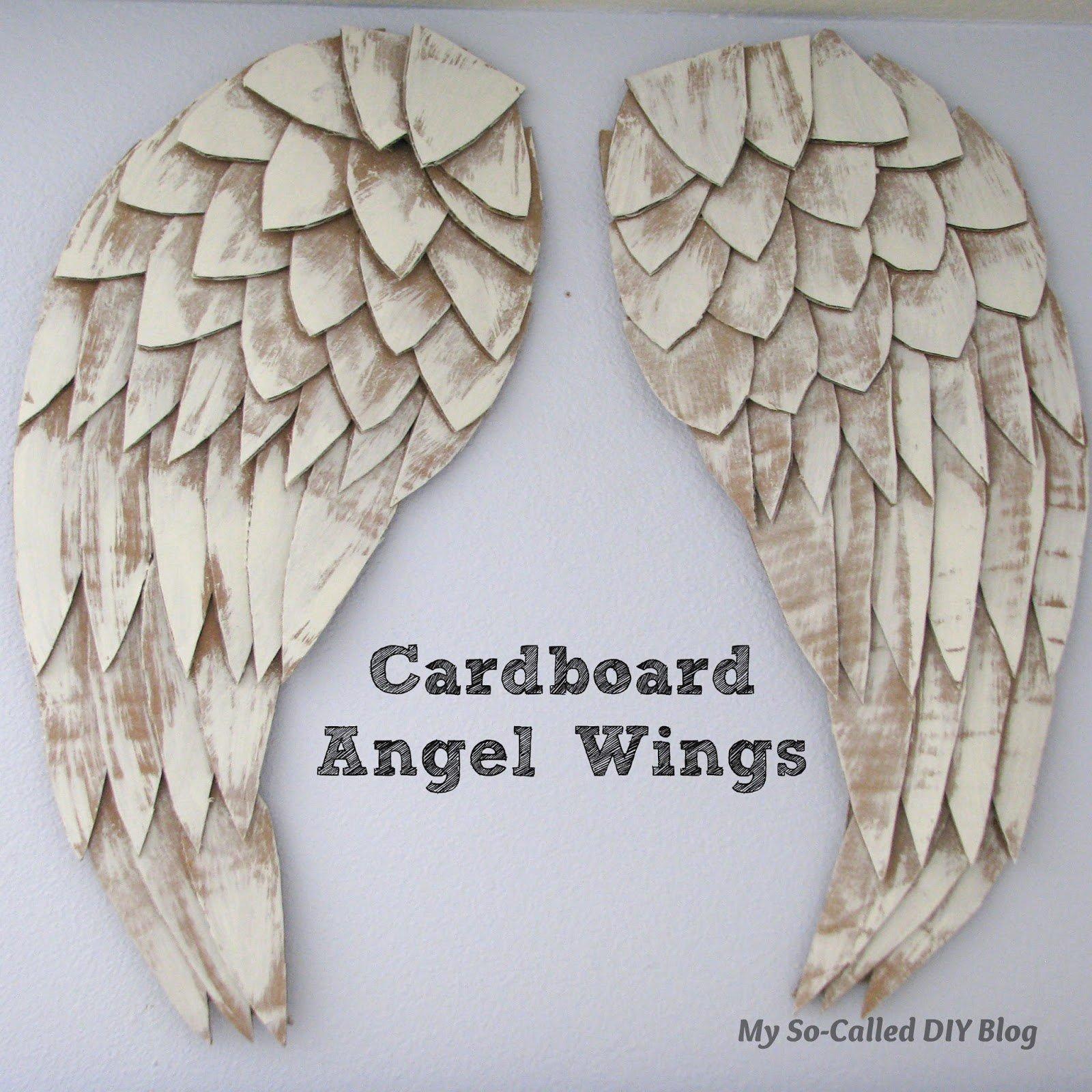 Крылья ангела своими руками мастер класс как делать для