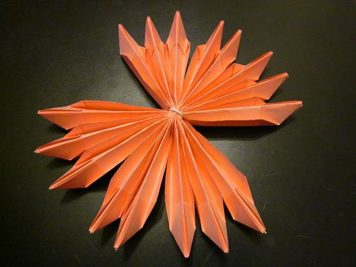 Кувшинка из бумаги своими руками: схема с фото