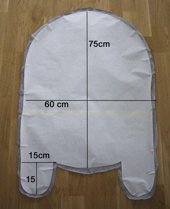 Выкройка кокона пеленка для новорожденного своими руками фото 910