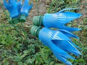 Колокольчики из пластиковых бутылок: мастер класс своими руками