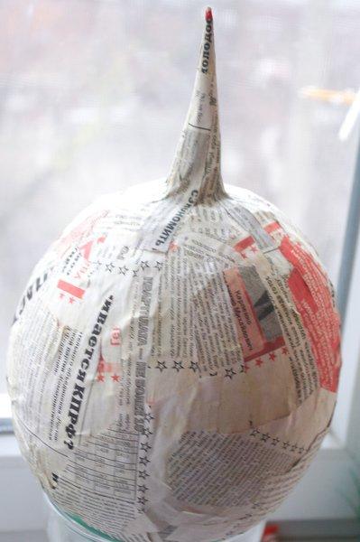 Шлем из бумаги мастер класс как сделать #4