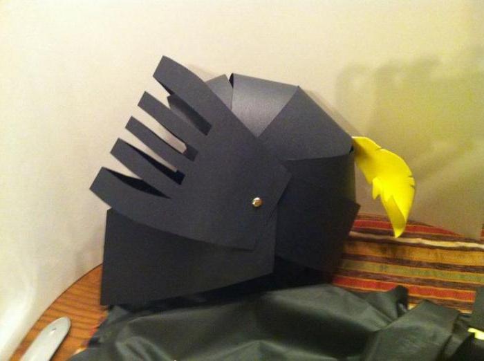 Хоккейный шлем из картона своими руками 34