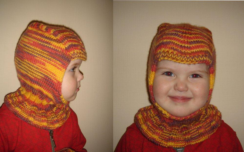 Шлем шапка детская мастер класс инструкция #3