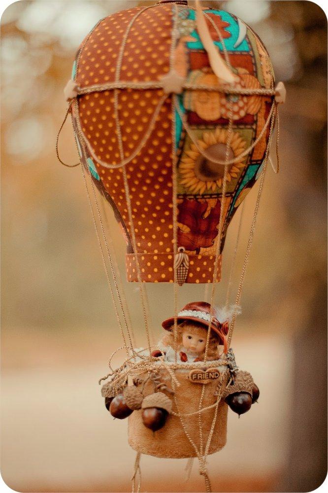 Воздушный шар игрушечный своими руками