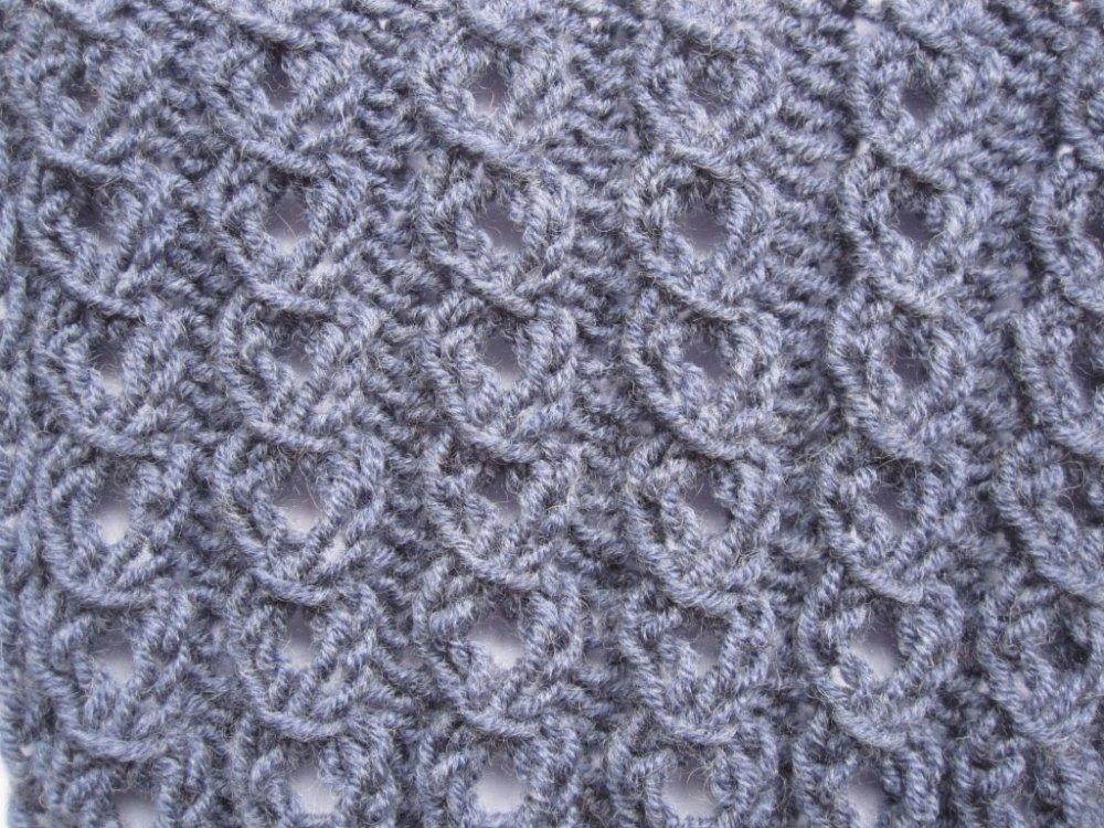 вязание схемы ажурные резинки