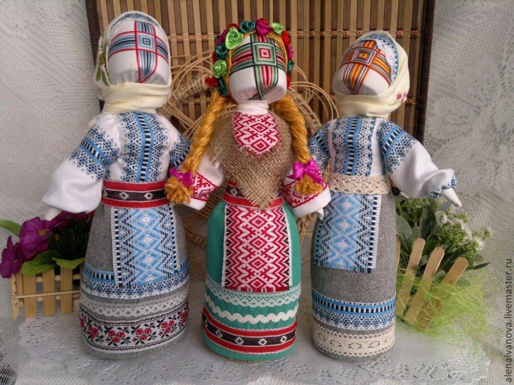 Куклы мотанки своими руками мастер класс все