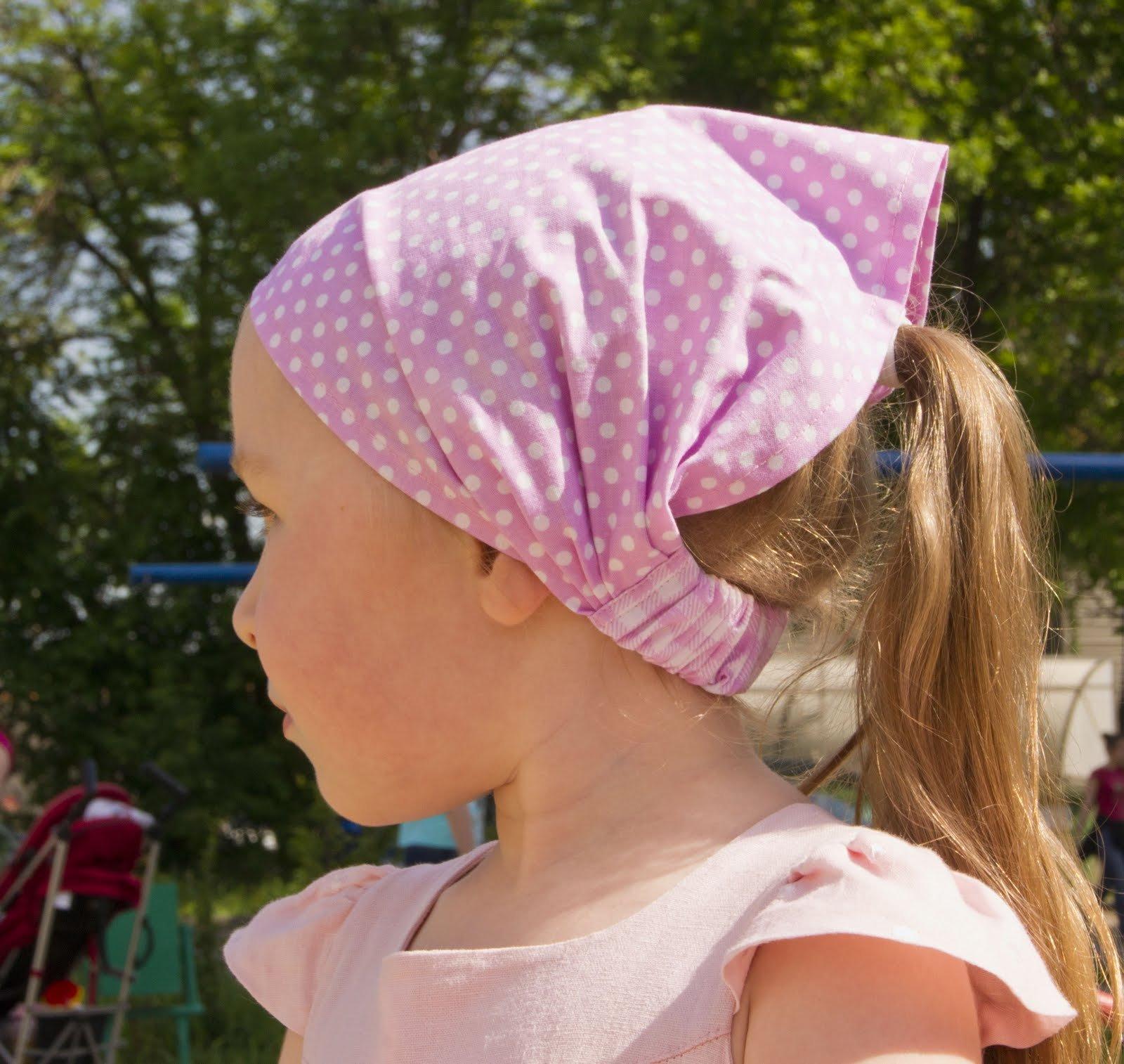 Сшить повязку на голову для девочки с фото