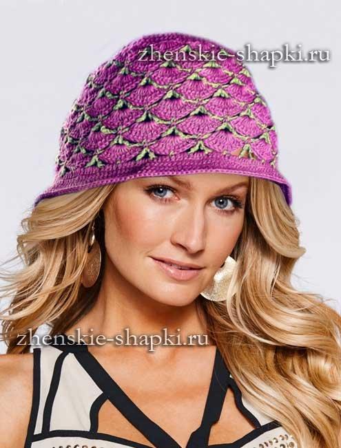 Летние шляпы для женщин крючком: описание с видео