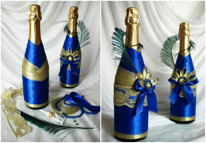 Шампанское оформление своими руками