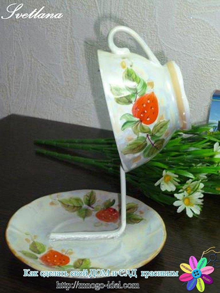 Парящая чашка своими руками пошагово