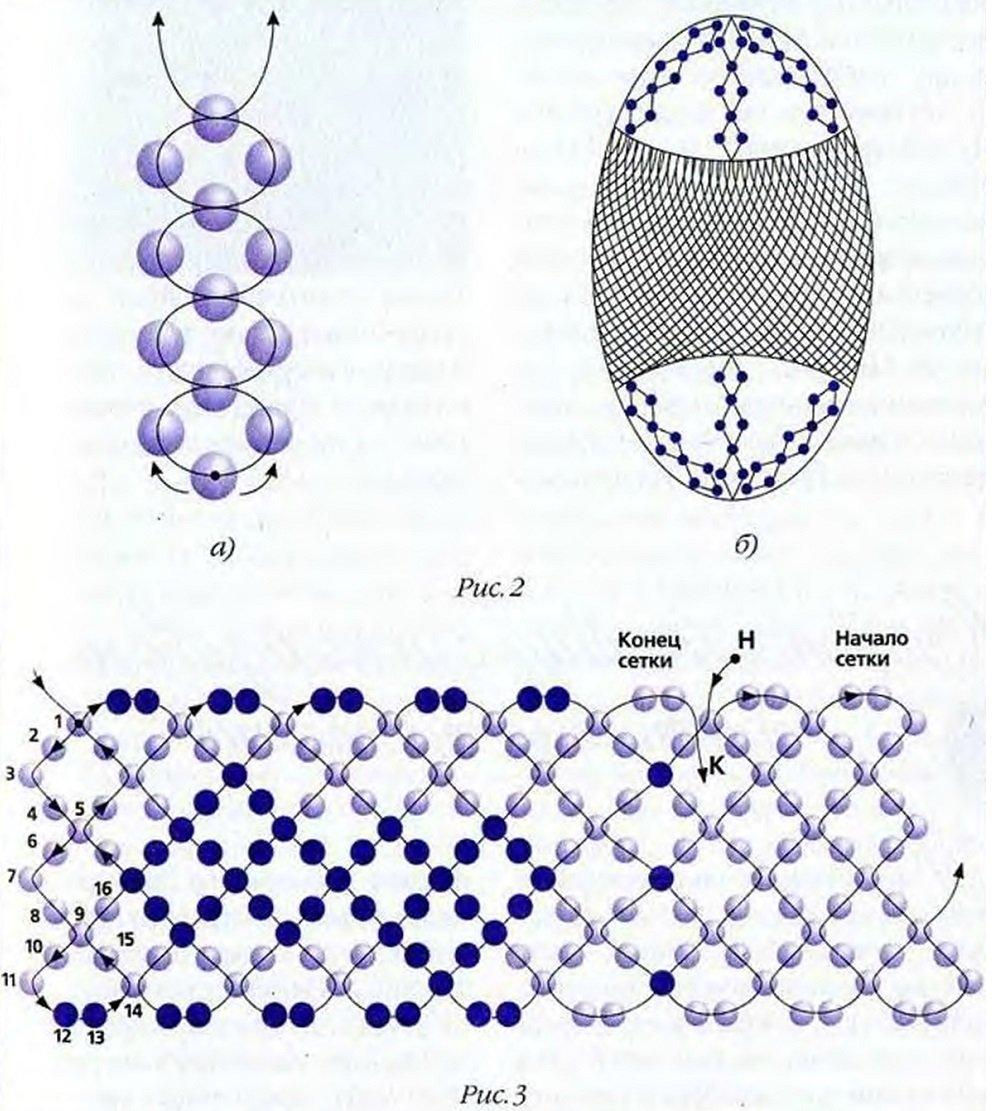 Схема кораллы из бисера схема