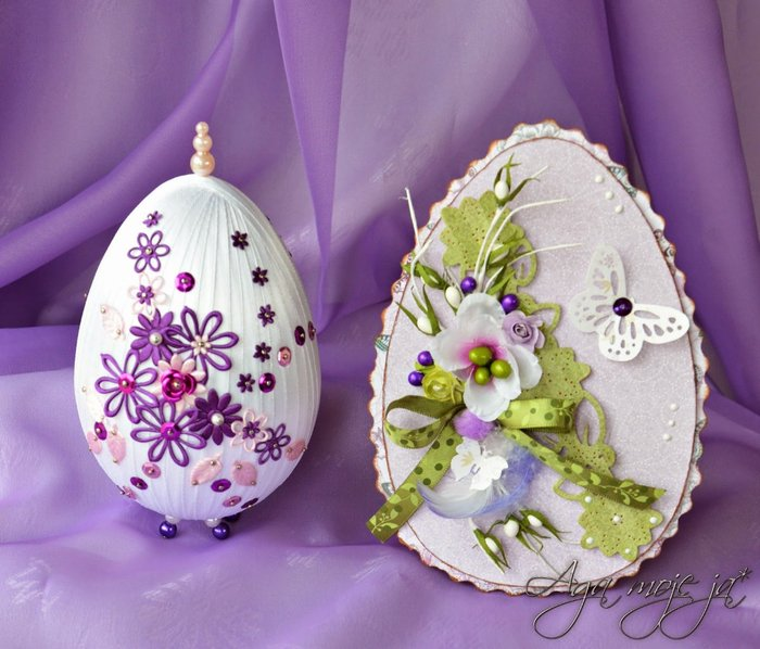 Фото пасхальные яйца своими руками