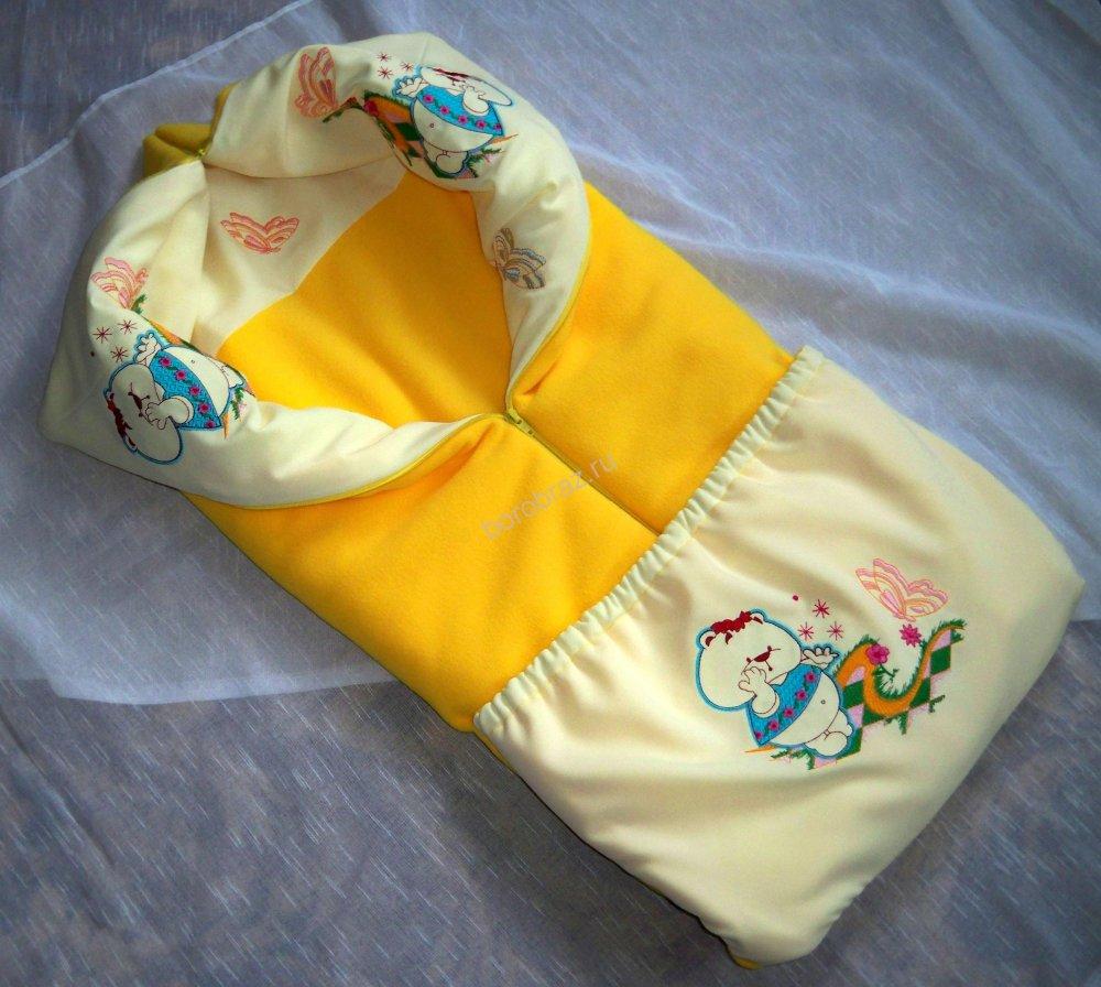 Одеяло конверт для новорожденных выкройка