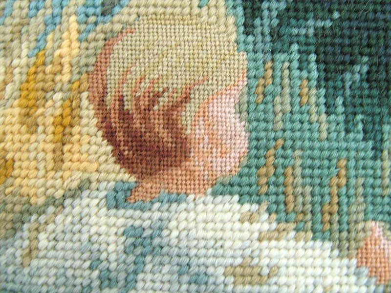 Вышивка гобеленов пошагово