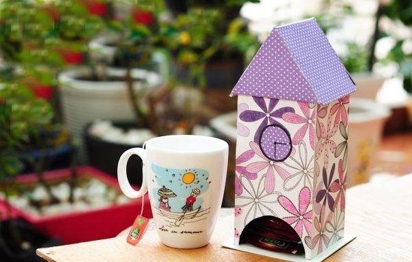 Чайные домики своими руками декупаж фото 800
