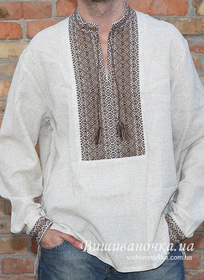 Схема мужской вышиванки: выкройка и фото-подборка