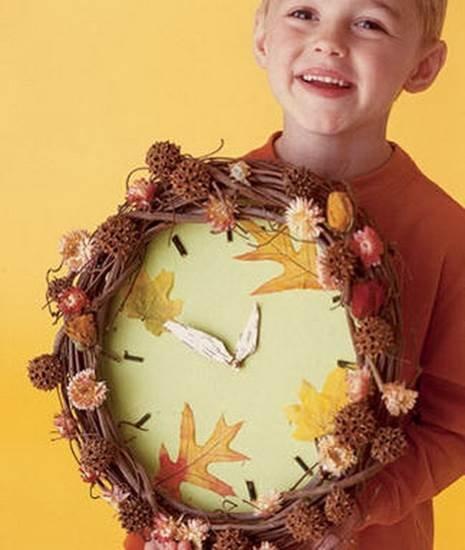 Осенние поделки своими руками: мастер класс из природного материал