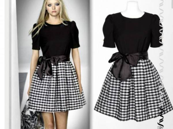 Модные юбки для девочек с выкройками