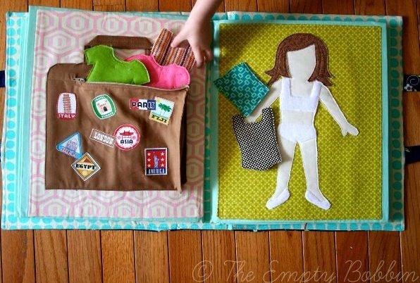 Мягкие книжки для малышей: делаем своими руками