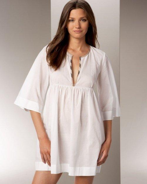 Модели ночных сорочек: выкройки с описанием