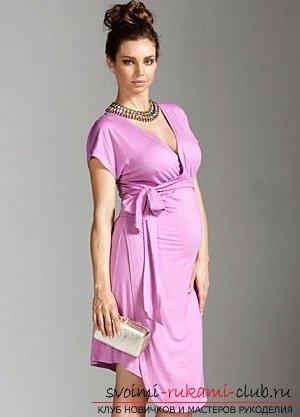 Платье для беременной своими руками: выкройка с фото