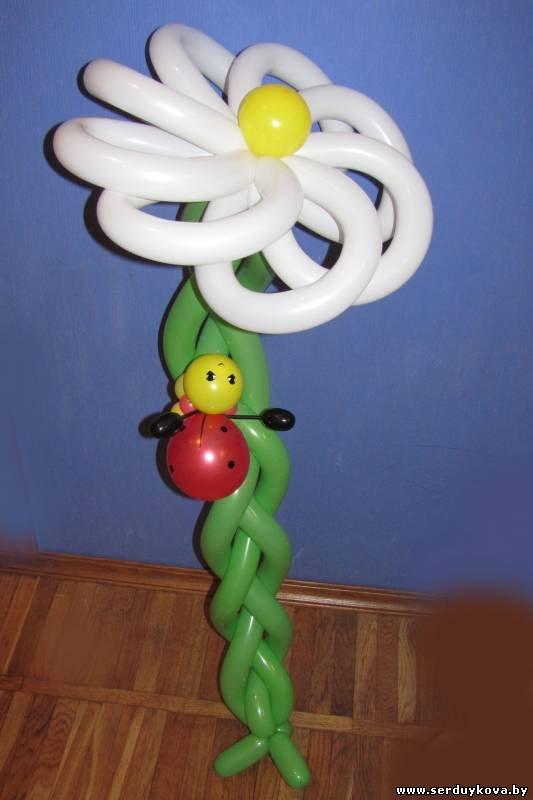 Бабочка из шаров мастер класс с пошаговым