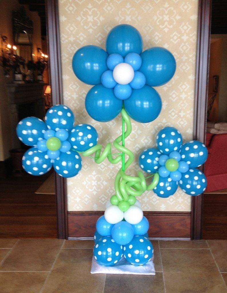 Своими руками воздушные шары украшать