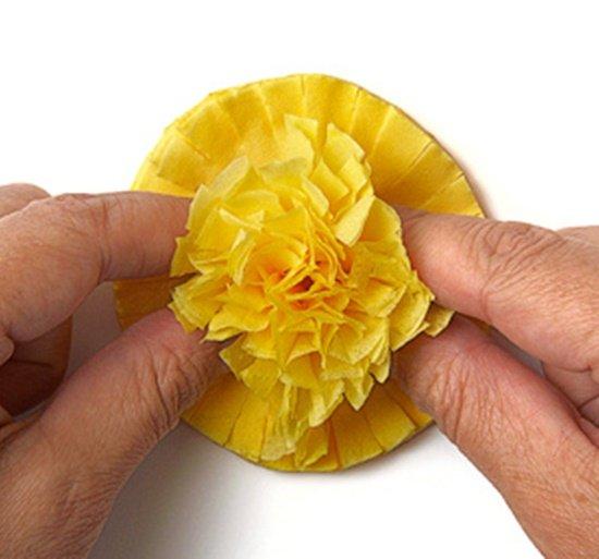 Страна мастеров цветы из салфеток мастер класс с пошаговым фото