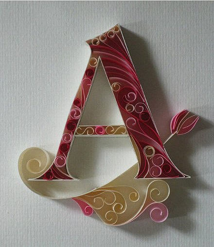 Буквы своими руками фото