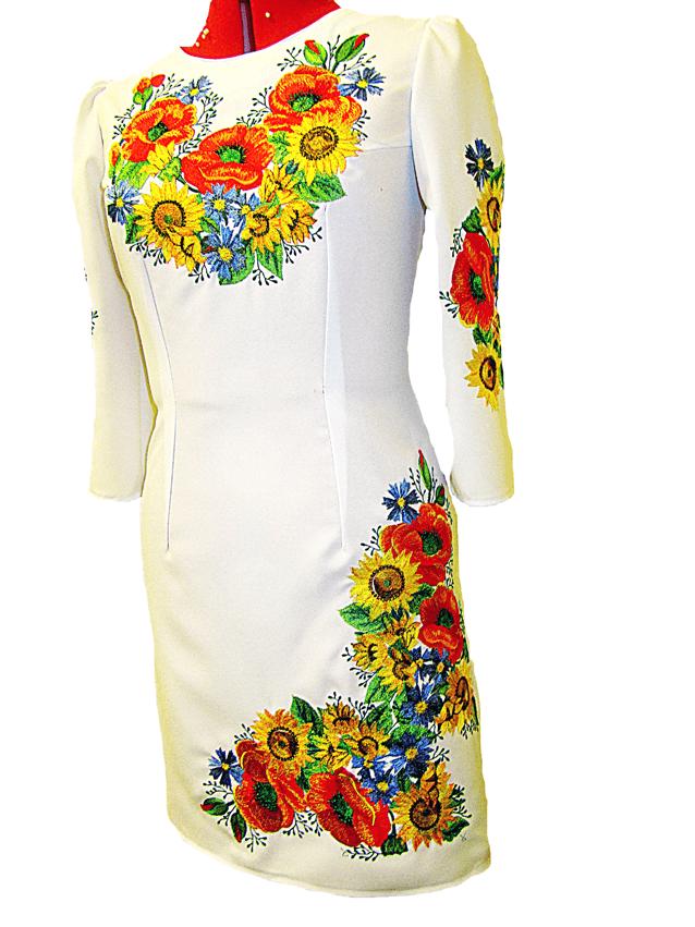 Вышивка женские платья 90