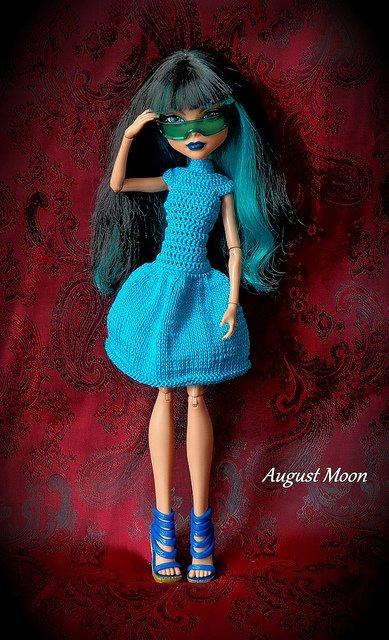 Платья на кукол монстер хай выкройки фото 800