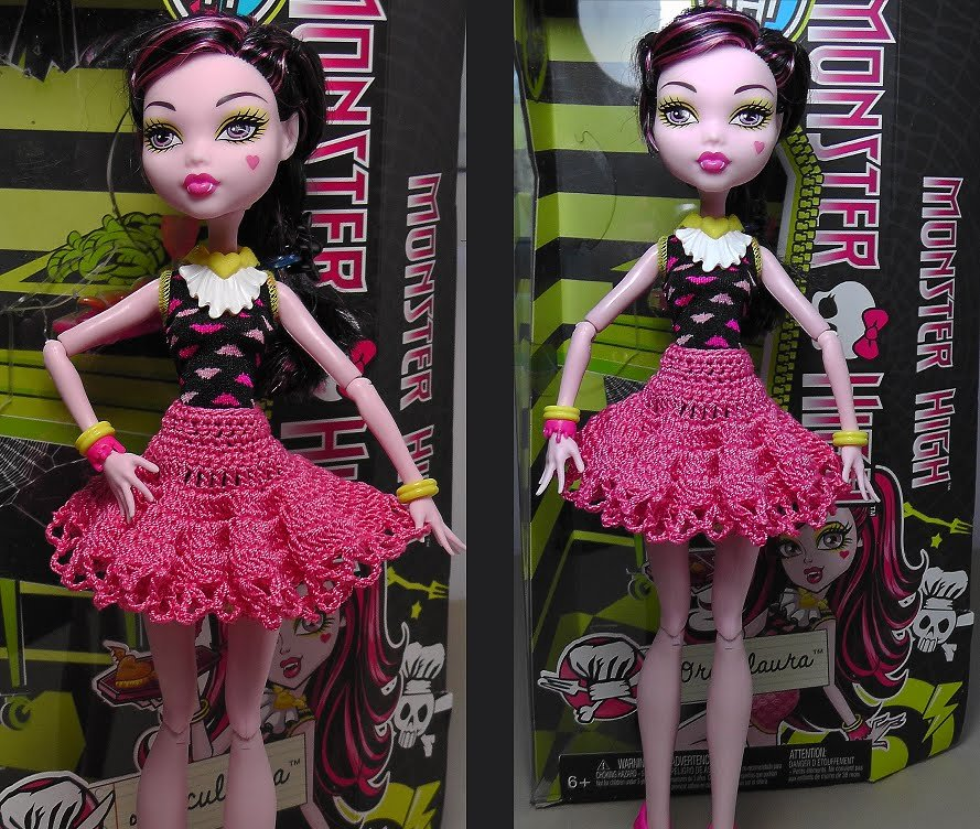 Платья на кукол монстер хай выкройки фото 680