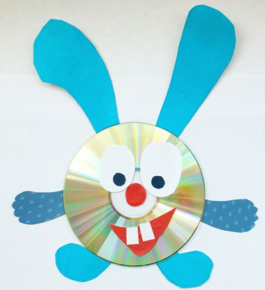 Поделки из дисков для детей смешарики