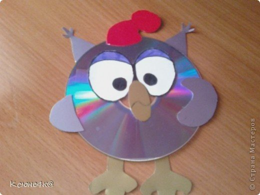 Как сделать смешариков из дисков своими руками