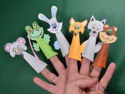 Как сделать из бумаг кукольный театр
