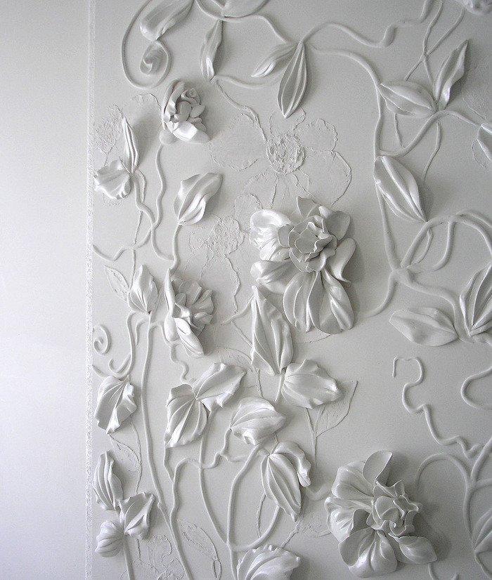 Лепное панно стену своими руками